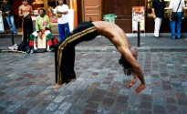 Street performer - Paris 2009